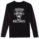 Brain Records Long Sleeve Tee
