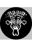Brain Records original Slipmat